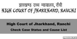 jharkhand high court case status