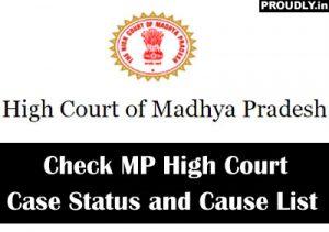 MP High Court Case Status