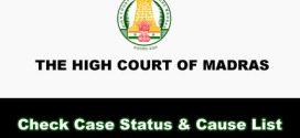 High court mp case status