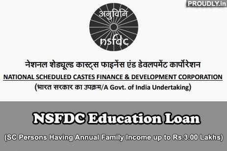 NSFDC Education Loan