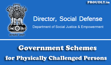 Government Schemes for Physically Handicapped Persons