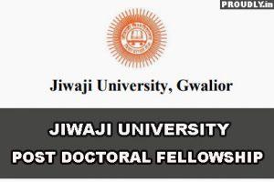 Jiwaji University Fellowship