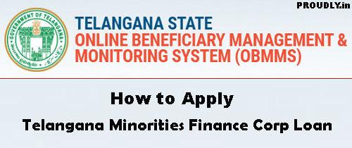 Telangana Minorities Finance Corp Loan