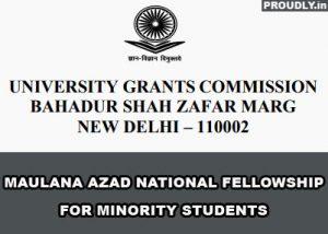 Maulana Azad National Fellowship