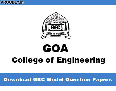 GEC Question Papers