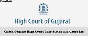 Gujarat High Court Case Status