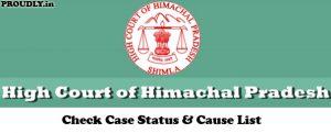 HP High Court Case Status