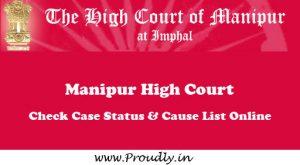 Manipur High Court Case Status