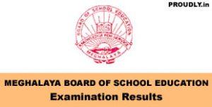 Meghalaya Exam Results