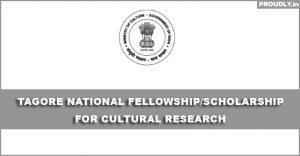 Tagore-National-Fellowship