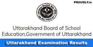 Uttarakhand Exam Results