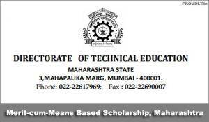 Maharashtra Merit cum Means Based Scholarship