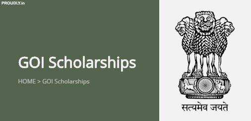 GOI Scholarship