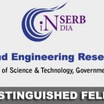 SERB Distinguished Fellow
