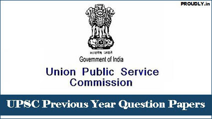 UPSC Previous Year Question Papers