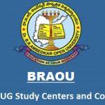BRAOU UG Study Centers