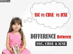 SSC, CBSE and ICSE Board