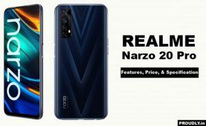 Realme Narzo 20 Pro Features