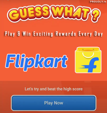 Flipkart Guess What Quiz Answers