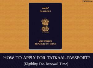 Tatkaal Passport