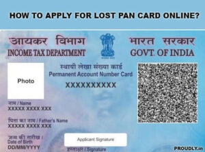 how to apply for lost pan card online
