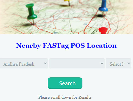 Fastag POS Locations Near Me