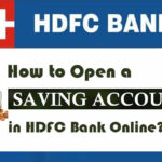 how to open hdfc savings account